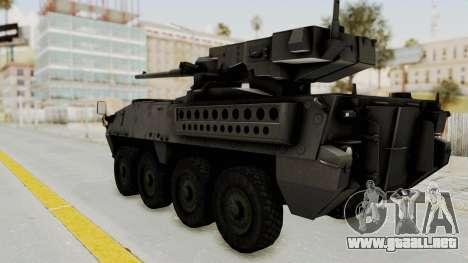 M1128 Mobile Gun System IVF para GTA San Andreas left