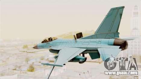 F-16 Fighting Falcon Civilian para la visión correcta GTA San Andreas