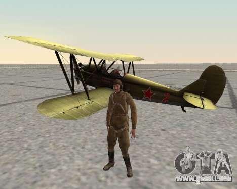 Pak combatientes del ejército rojo para GTA San Andreas décimo de pantalla