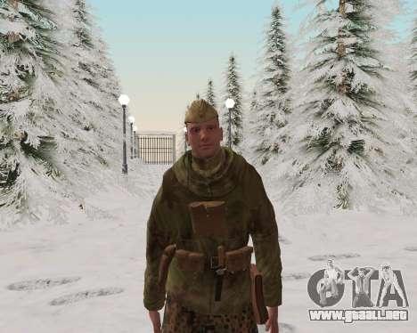 Pak combatientes del ejército rojo para GTA San Andreas quinta pantalla