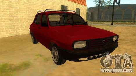 Dacia 1310 Berlina 1985 para GTA San Andreas vista hacia atrás