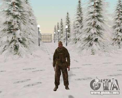 Pak combatientes del ejército rojo para GTA San Andreas sexta pantalla