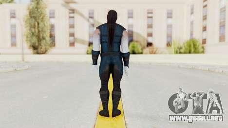 Mortal Kombat X Klassic Sub Zero v2 para GTA San Andreas tercera pantalla