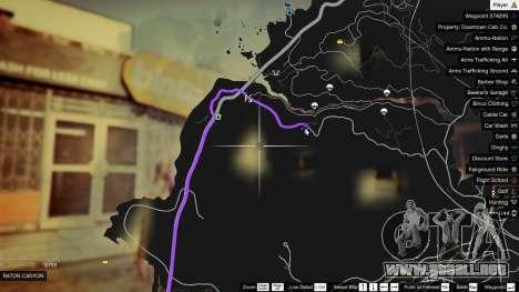 GTA 5 Treasure Map V segunda captura de pantalla