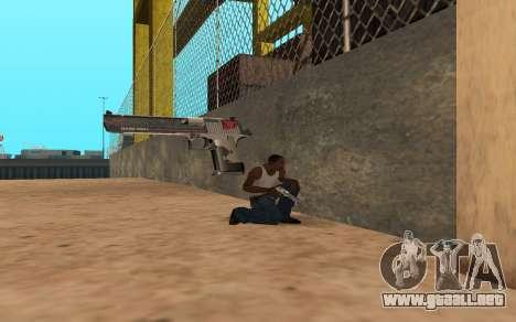 Desert Eagle Cyrex para GTA San Andreas quinta pantalla