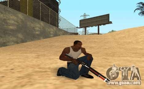 Shotgun Cyrex para GTA San Andreas sexta pantalla