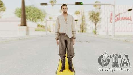 AC Brotherhood - Ezio Auditore Short Hair Civil para GTA San Andreas segunda pantalla