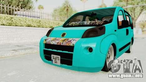 Fiat Fiorino Hellaflush v1 para GTA San Andreas