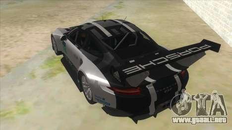 2016 Porsche 911 RSR para GTA San Andreas vista posterior izquierda