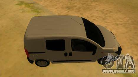 Fiat Fiorino Combi Mix para visión interna GTA San Andreas