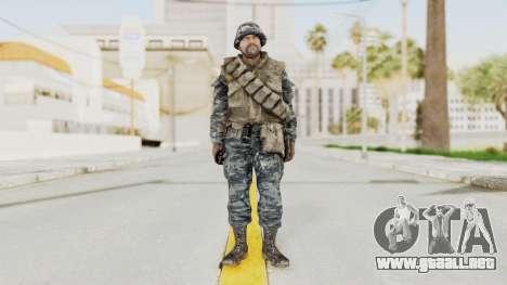COD BO Russian Spetznas Flak MP v2 para GTA San Andreas segunda pantalla
