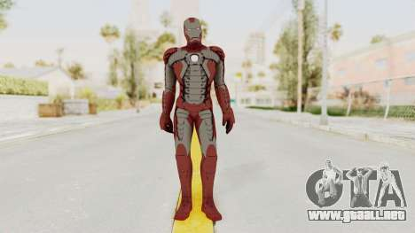 Marvel Heroes - Iron Man (Mk5) para GTA San Andreas segunda pantalla