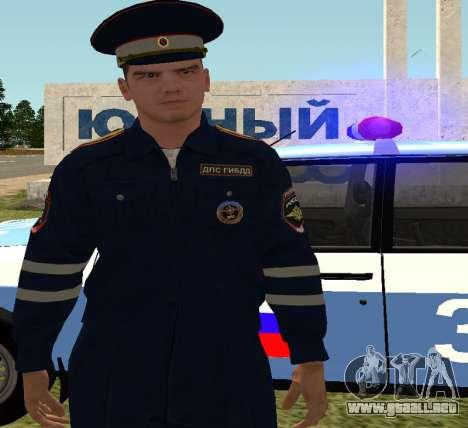 El sargento de DPS para GTA San Andreas