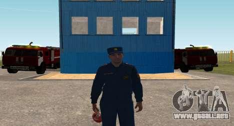 El Coronel EMERCOM de Rusia para GTA San Andreas