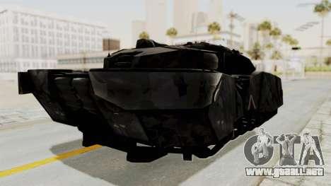 T-470 Hover Tank para la visión correcta GTA San Andreas