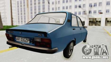 Dacia 1310 MLS 1988 Stock para GTA San Andreas left