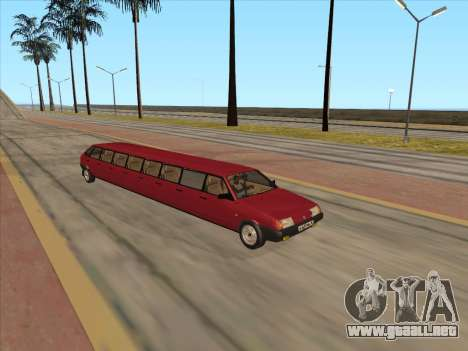 VAZ 2109 17-door para GTA San Andreas left
