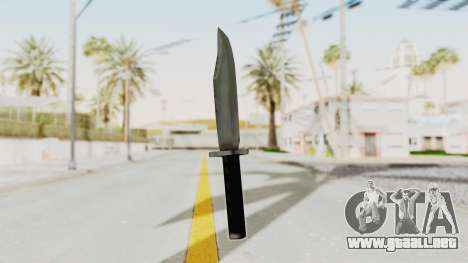 Liberty City Stories - Knife para GTA San Andreas