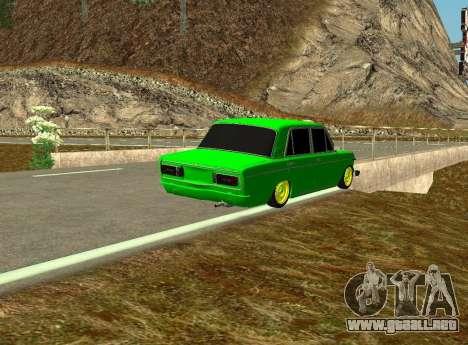 VAZ 2106 Shah para la visión correcta GTA San Andreas