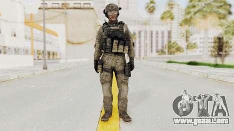 COD MW3 Delta Sandman Custom para GTA San Andreas segunda pantalla