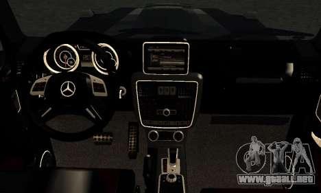 Brabus B65 para visión interna GTA San Andreas