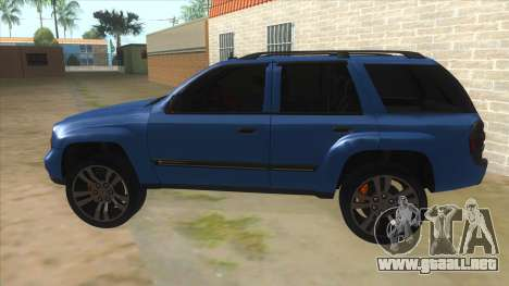 Chevrolet TrailBlazer para GTA San Andreas left