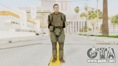 MGSV Ground Zeroes MSF Medic para GTA San Andreas segunda pantalla