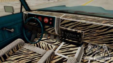 GTA 5 Dundreary Virgo Classic Custom v3 IVF para visión interna GTA San Andreas