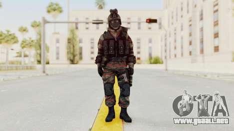 Battery Online Russian Soldier 5 v1 para GTA San Andreas segunda pantalla