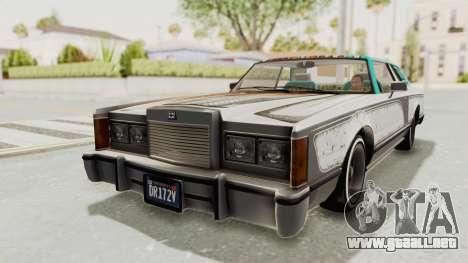 GTA 5 Dundreary Virgo Classic Custom v2 para vista inferior GTA San Andreas