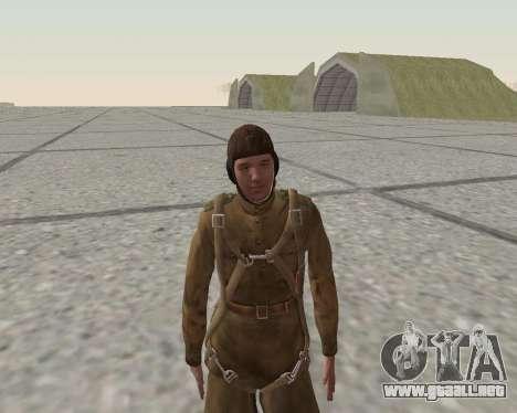 Pak combatientes del ejército rojo para GTA San Andreas novena de pantalla