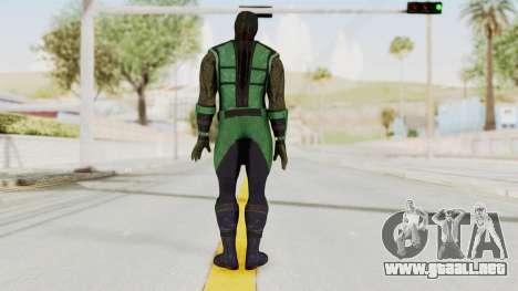 Mortal Kombat X Klassic Reptile para GTA San Andreas tercera pantalla