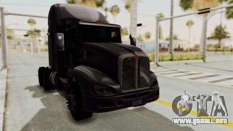 Kenworth T660 Sleeper para la visión correcta GTA San Andreas