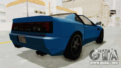 Annis Euros 3.0Z Turbo 1992 para GTA San Andreas left