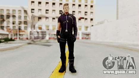 Captain America Civil War - Hawkeye para GTA San Andreas segunda pantalla