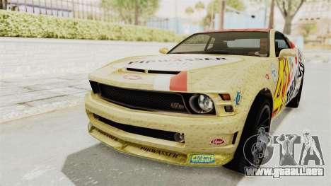 GTA 5 Vapid Dominator v2 IVF para visión interna GTA San Andreas