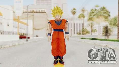 Dragon Ball Xenoverse Goku SSJ1 para GTA San Andreas segunda pantalla