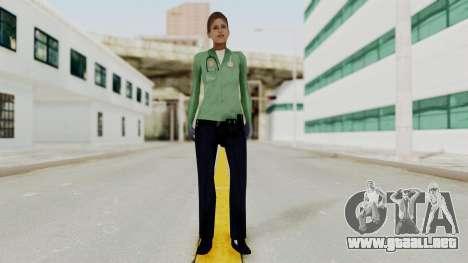 Female Medic Skin para GTA San Andreas segunda pantalla