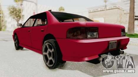 Kartin Sultan RS para la visión correcta GTA San Andreas