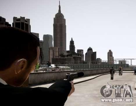 El silenciador del arma para GTA 4 segundos de pantalla