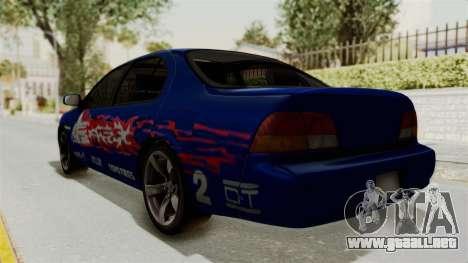 Nissan Maxima SE 1997 Fast N Furious para GTA San Andreas left
