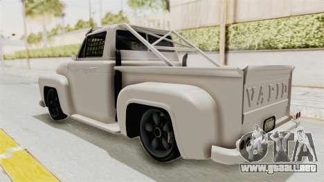 GTA 5 Slamvan Race para GTA San Andreas left