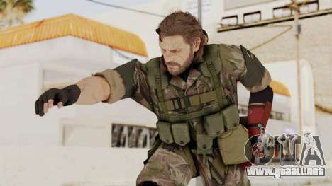 MGSV The Phantom Pain Venom Snake No Eyepatch v6 para GTA San Andreas