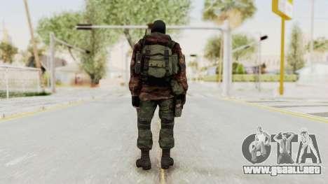 Battery Online Russian Soldier 8 v2 para GTA San Andreas tercera pantalla