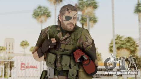 MGSV The Phantom Pain Venom Snake Woodland para GTA San Andreas
