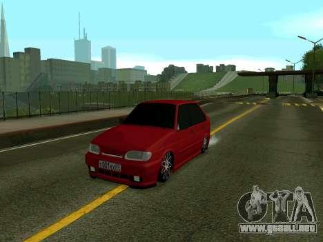 VAZ 2114 KBR para GTA San Andreas