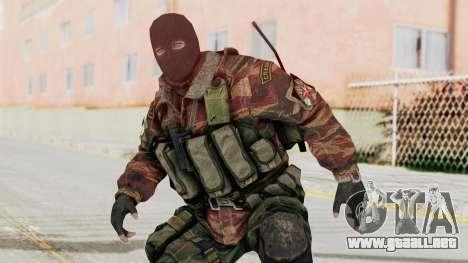 Battery Online Russian Soldier 8 v2 para GTA San Andreas