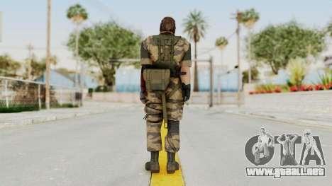 MGSV The Phantom Pain Venom Snake No Eyepatch v2 para GTA San Andreas tercera pantalla