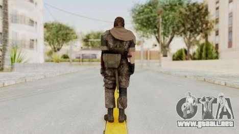 MGSV The Phantom Pain Venom Snake Sc No Patch v6 para GTA San Andreas tercera pantalla