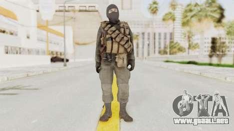 COD Black Ops Russian Spetznaz v1 para GTA San Andreas segunda pantalla